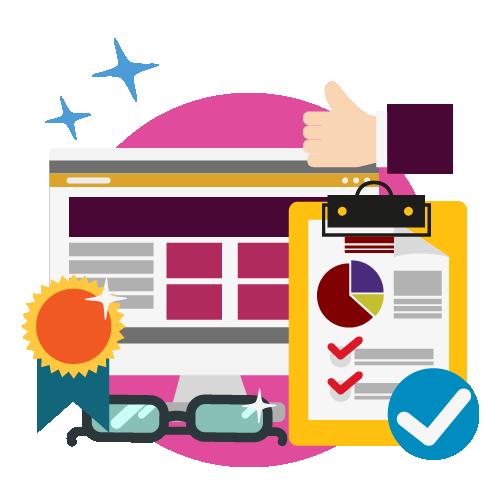 WordPress website design van onetap dat is veilig en snel