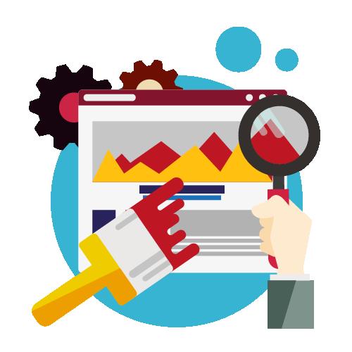 Website design one tap online