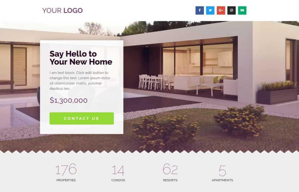 Huis verhuur en home rental website in WordPress binnen 1 uur online door OneTap.Online