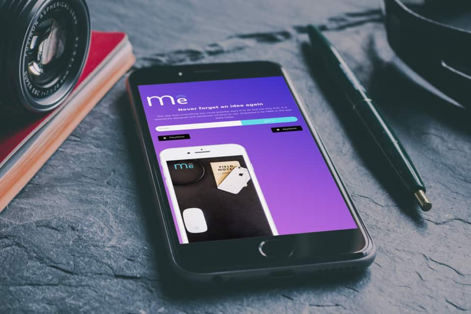 Mobile app landingspage WordPress OneTap.Online binnen 1 uur online