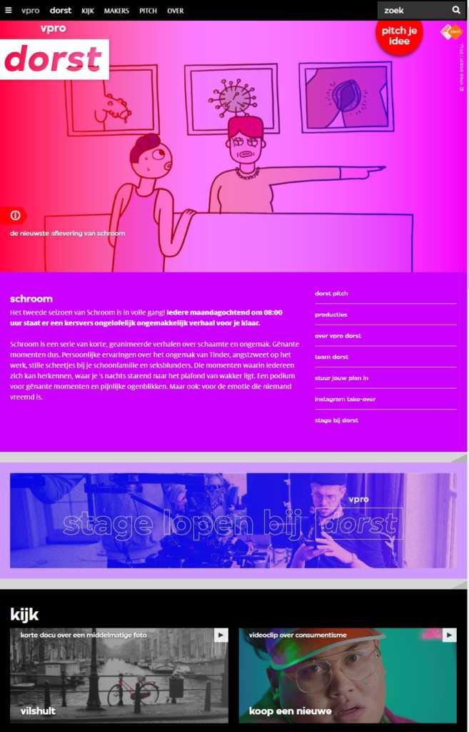 OneTap Online WordPress Design voorbeeld