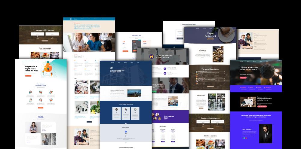 Webshop design onetap